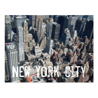 Carte postale de New York City