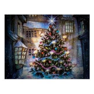 Carte postale de Noël