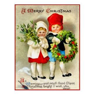 Carte postale de Noël de Clapsaddle
