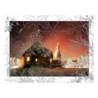 Carte postale de Noël de Milou