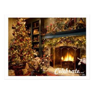 Carte postale de Noël (MODÈLE)