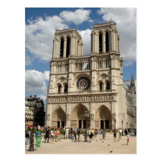 Carte postale de Notre Dame