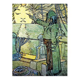 Carte postale de Nouveau d'art : Alphonse Mucha -