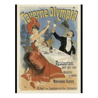 Carte postale de Nouveau d'art - Taverne