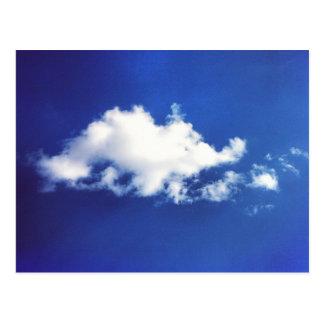 Carte postale de nuage de Brontosauras