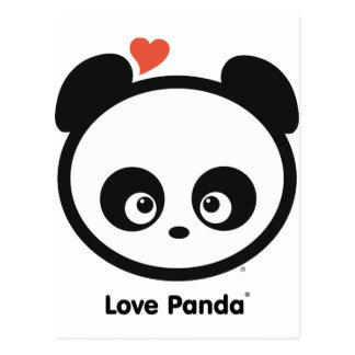 Carte postale de Panda® d'amour