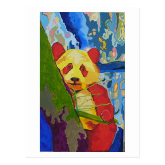 Carte postale de panda de bruit