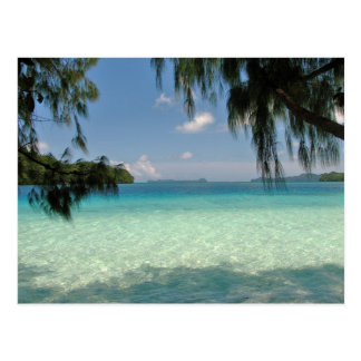Carte postale de paradis