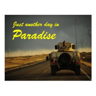 Carte postale de paradis de l'Afghanistan