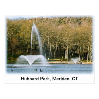 Carte postale de parc de Hubbard