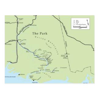 Carte postale de parc de Kate Shugak