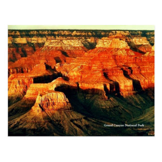 Carte postale de parc national de canyon grand