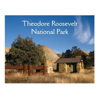 Carte postale de parc national de Theodore