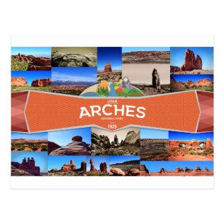 Carte postale de parc national de voûtes