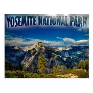 Carte postale de parc national de Yosemite de