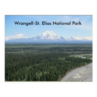 Carte postale de parc national d'Elias de