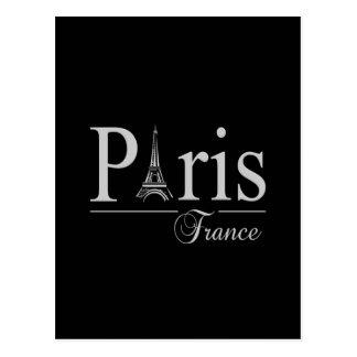 Carte postale de Paris France, personnaliser