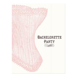Carte postale de partie de Bachelorette