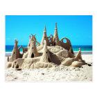 Carte postale de pâté de sable de plage de Noosa