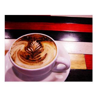 Carte postale de pause-café