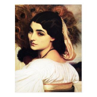 Carte postale de Pavonia de Frederic Leighton
