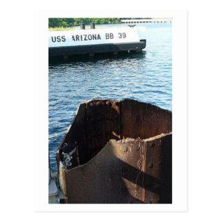 Carte postale de Pearl Harbor