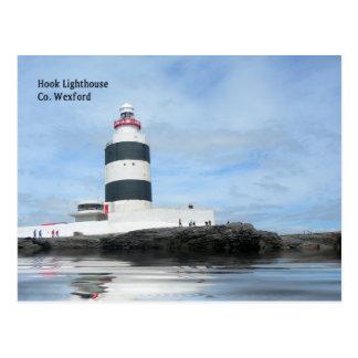 Carte postale de phare de crochet