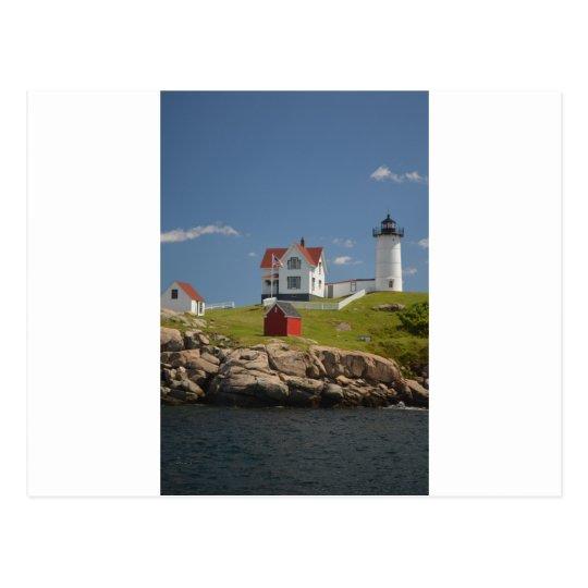 Carte postale de phare de Neddick de cap