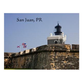 Carte postale de phare de San Juan