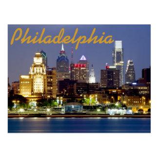 Carte postale de Philadelphie