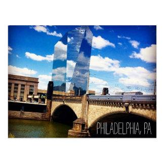 Carte postale de Philadelphie Pennsylvanie