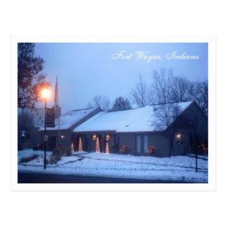 carte postale de photo de Noël - customisée