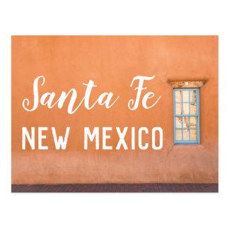 Carte postale de photo de Santa Fe, Nouveau