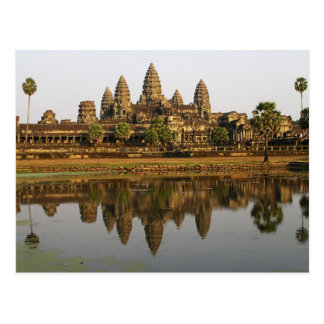 Carte postale de photo de voyage du Cambodge |