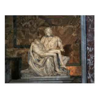 Carte postale de Pieta de Michaël Angelo