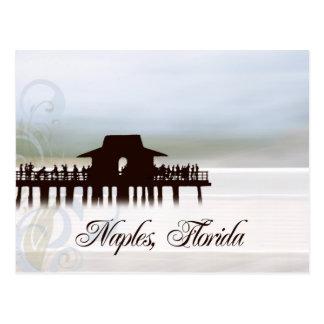 Carte postale de pilier de Naples