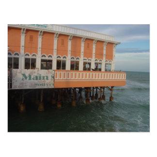 Carte postale de pilier d'océan