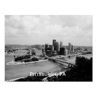Carte postale de Pittsburgh