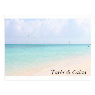 Carte postale de plage