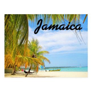 Carte postale de plage de la Jamaïque