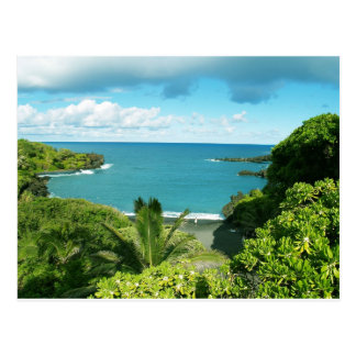 Carte postale de plage de Maui