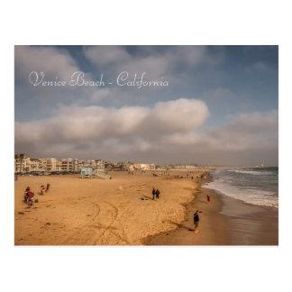 Carte postale de plage de Venise