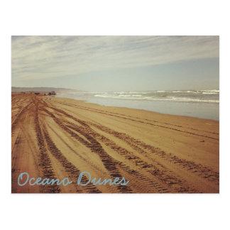 Carte postale de plage des dunes SVRA Pismo
