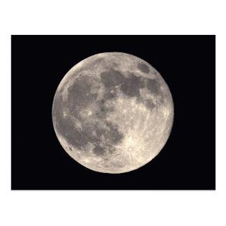 Carte postale de pleine lune