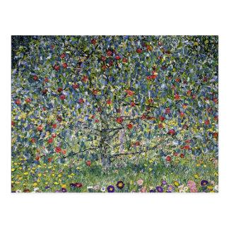 Carte postale de pommier de Gustav Klimt