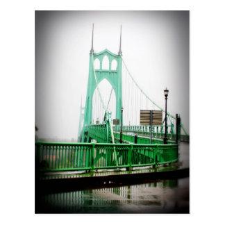 Carte postale de pont de St Johns