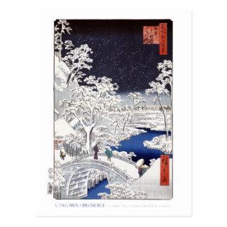 Carte postale de pont en tambour
