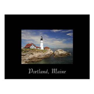 Carte postale de Portland, Maine