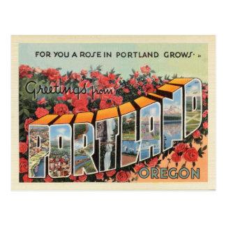 Carte postale de Portland Orégon