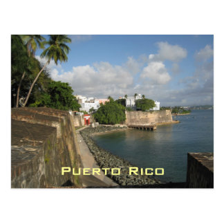 Carte postale de Porto Rico
